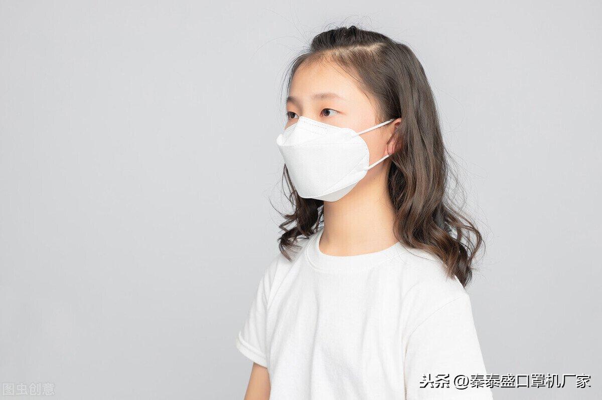 全自动儿童口罩机讲诉儿童佩戴口罩的标准与注意事项