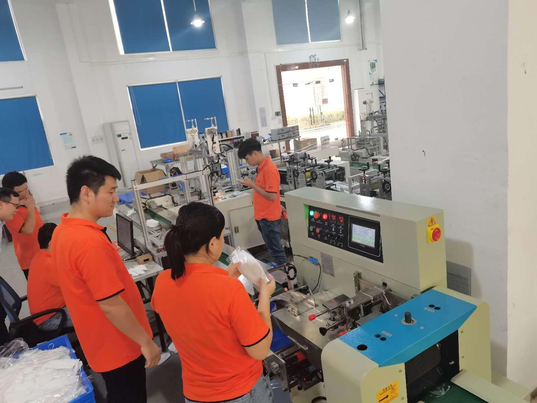 东莞全自动口罩机运行期间出现静电的原因