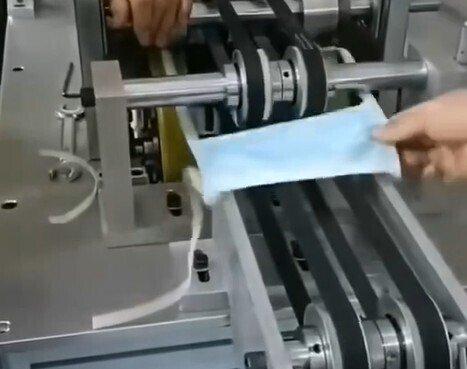 平面绑带一拖一口罩机如何检查及调试