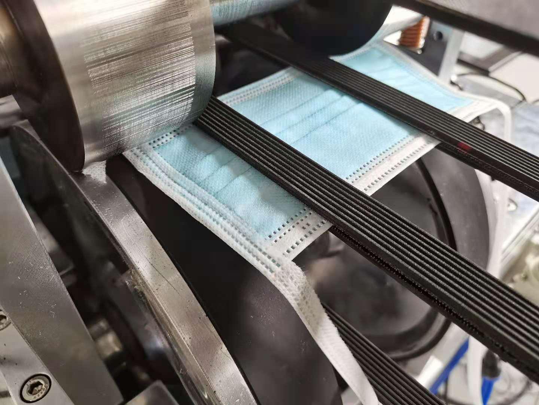 绑带式平面口罩机参数