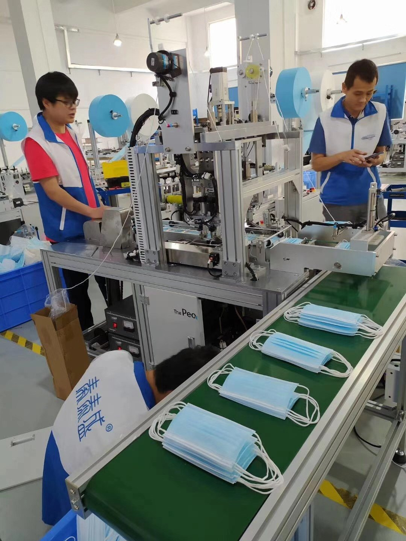秦泰盛平面口罩机产品配置及特点