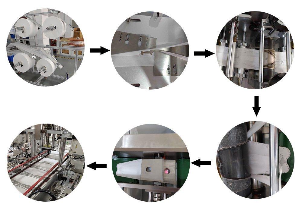 鱼型口罩机流程