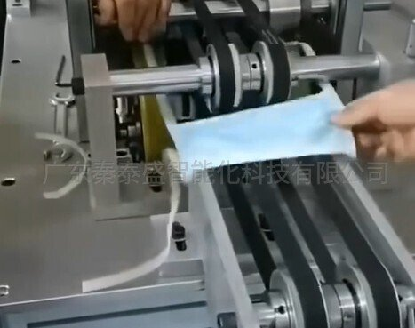 秦泰盛全自动绑带式平面口罩机公司介绍