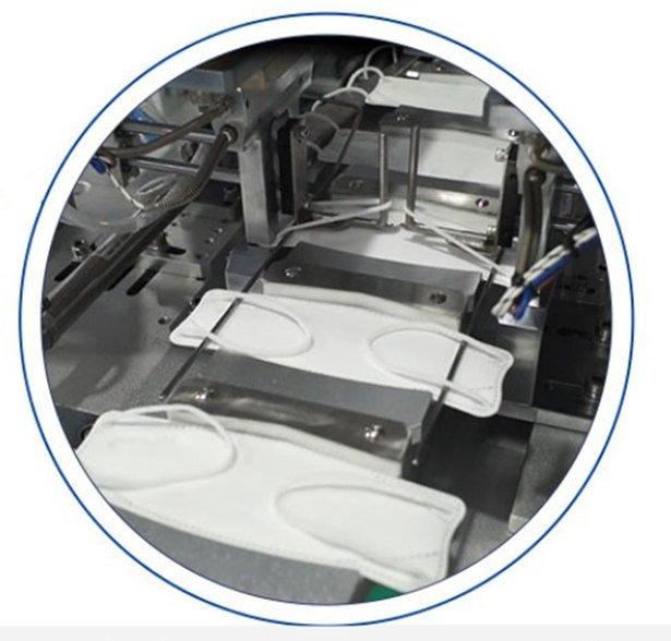 全自动KF94鱼形一拖一口罩机