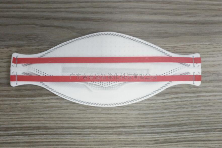 全自动KF94图钉头带式鱼型口罩机 3M9332口罩生产线