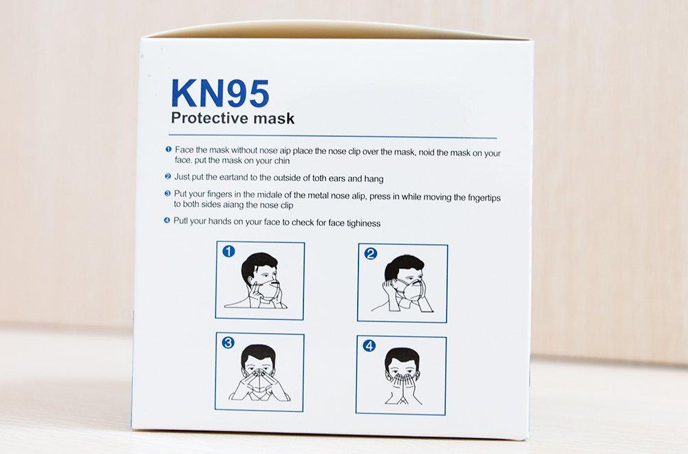 青枣KN95口罩正确使用方式