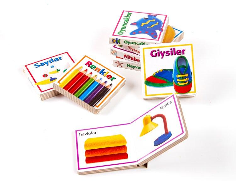 Custom kids educational english story book child paperboard book printer