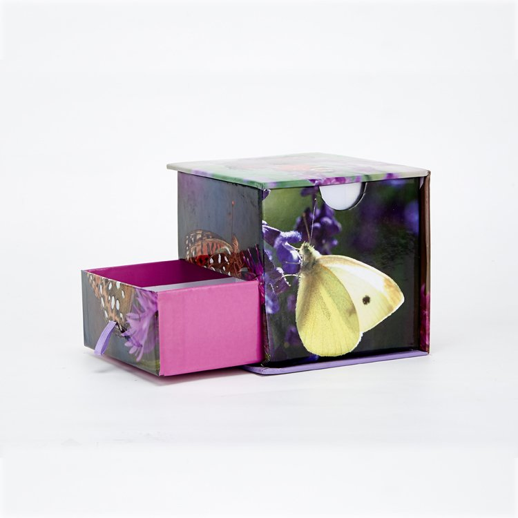 ustomized logo packaging gift box,printed paper packaging box with drawer,small empty paper packing