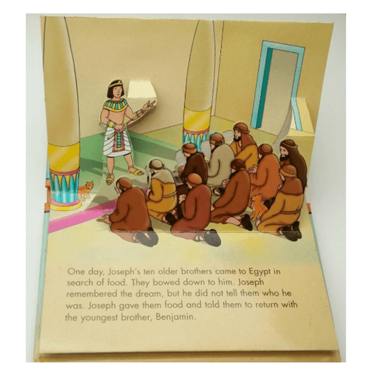 Custom bible story miniature pop up book printing colorful a pop up board books printing
