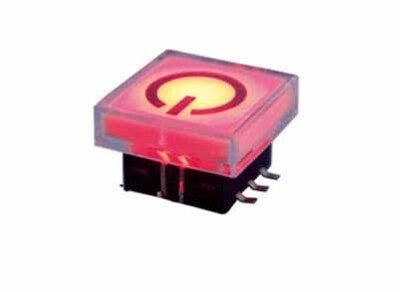 带灯轻触开关TS22-1W-R-K3-S