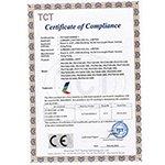 荣誉证书CE-LED PANEL  CE-EMC