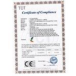 荣誉证书CE-LED PANEL  CE-LVD