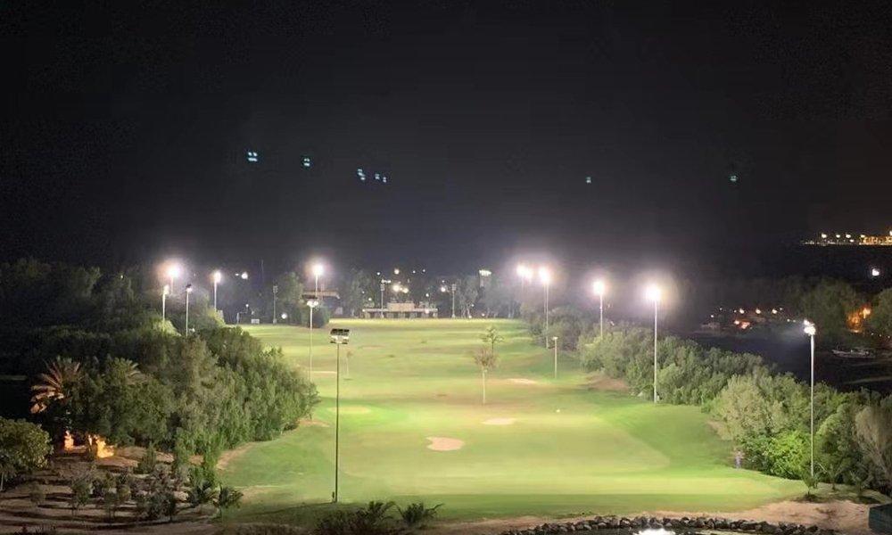 【迪拜】国王公园高尔夫球场亮化
