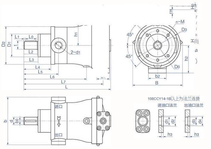 Hydraulic Piston Pump CY14-1B 2