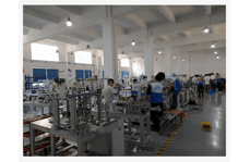 Medical automatic mask machine assembly workshop