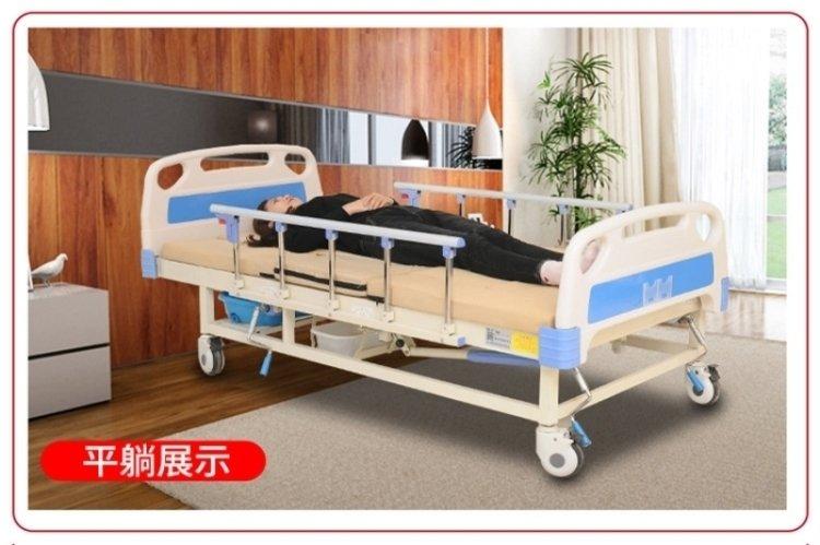 实木老年多功能护理床怎么方便病人起身、方便