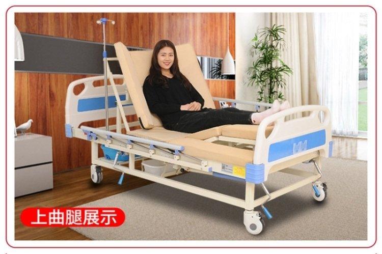 手动双摇多功能护理床供应商如果选择