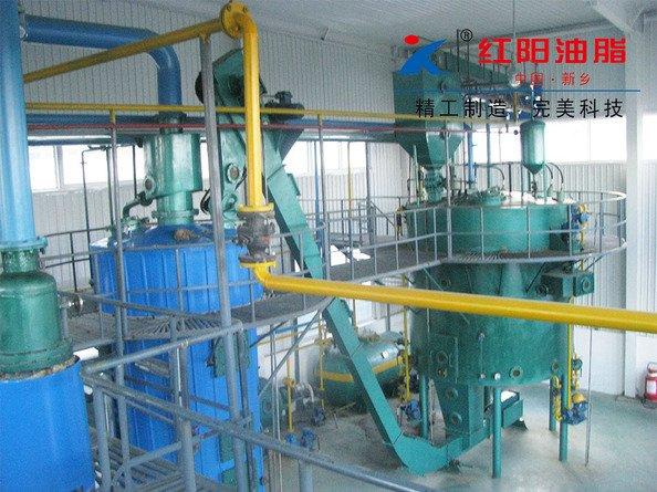 米糠油浸出设备-稻米油浸出设备