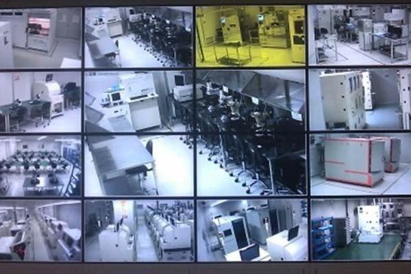 工厂监控安装