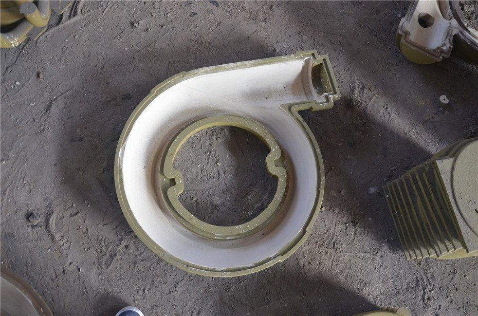 渣浆泵铸造覆膜砂磨具