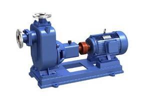 ZW self-priming sewage pump