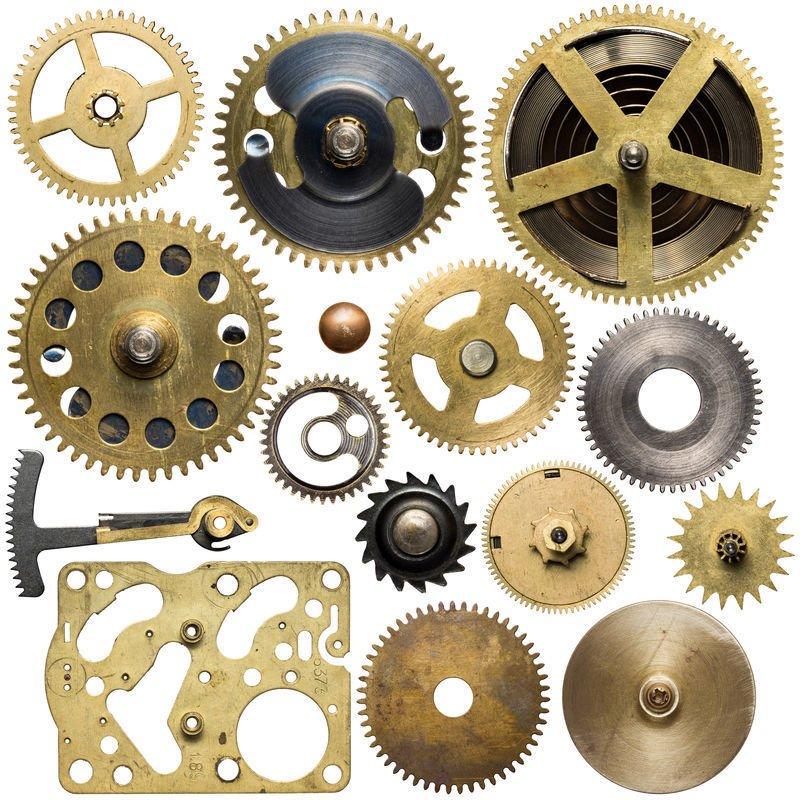 Watch industry metal parts fib ...