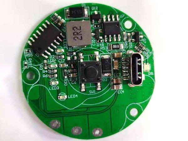筋膜枪印制电路板_筋膜枪PCBA电路板加工_肌肉按摩器电路板厂家