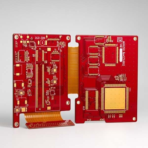 红油通信埋盲孔软硬结合板
