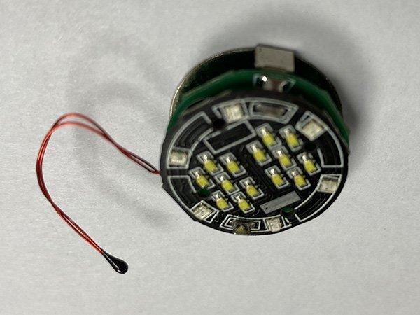 智能水杯触摸温度显示电路板