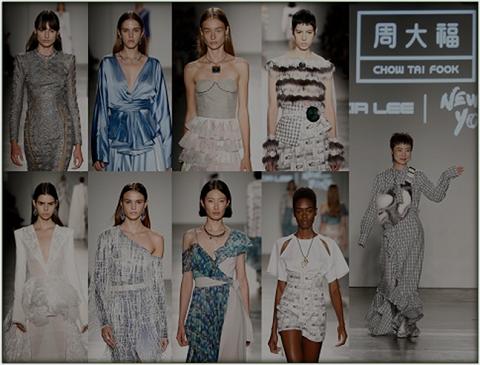 周大福2019纽约时尚周艺术跨界展-美国媒体传播