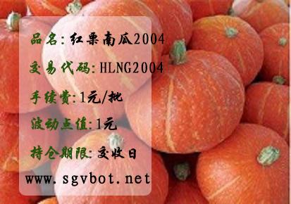 红栗南瓜HLNG2004