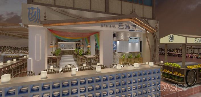 云南云味坊餐饮家具设计案例