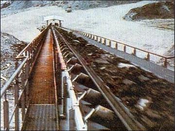煤矿用钢丝绳芯阻燃输送带