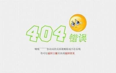 做好搜索引擎优化需正确设置404错误页面
