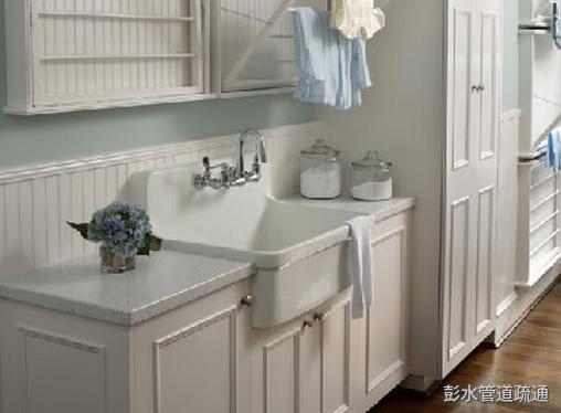 卫生间洗手盆堵了处理方法