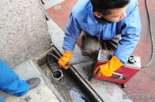 下水排污管道淤泥疏通工序流程