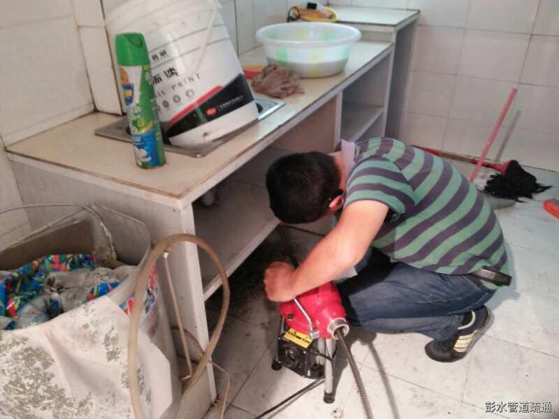 彭水管道疏通之江城美景疏通案例