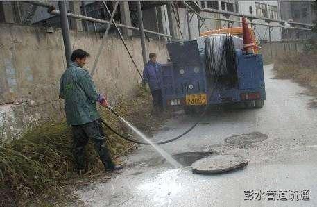 彭水超高压水射流清洗下水道