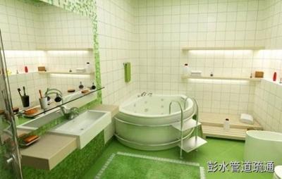 浴缸堵塞原因以及彭水下水道疏通方法介绍