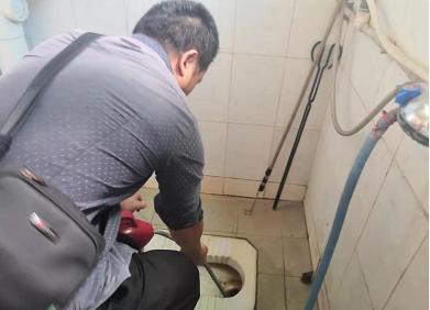 彭水健康委员会厕所疏通案例