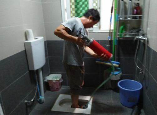彭水疏通厕所管道案例欣赏
