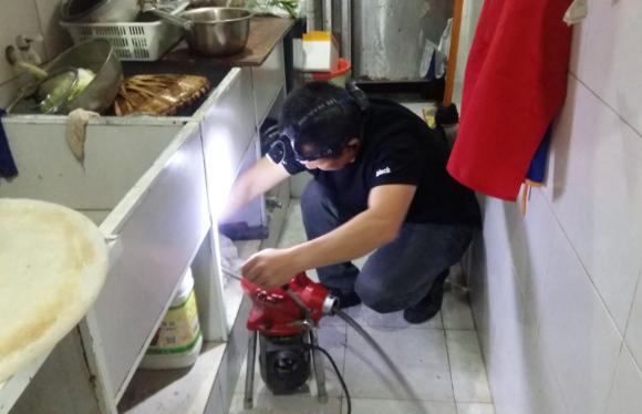 彭水疏通厨房下水道