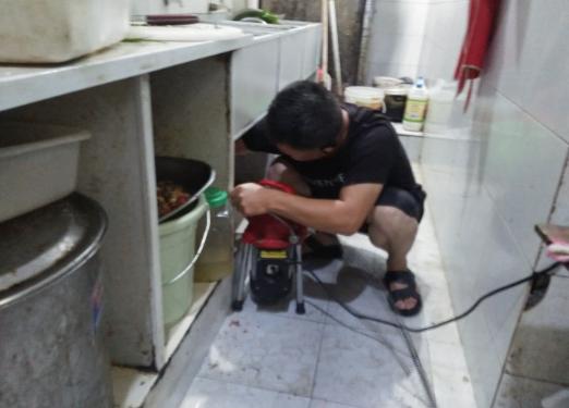 太阳城疏通厨房下水道