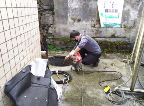 普及污水管道的清洗方式