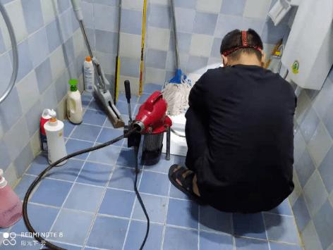 厕所下水道堵塞问题
