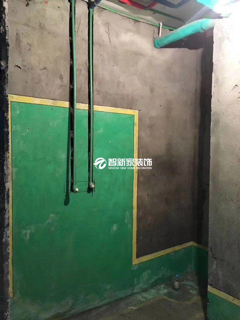 哈尔滨装修施工卫生间防水工艺展示