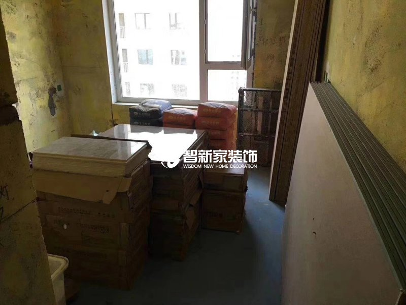 哈尔滨装修施工-工地现场摆放(一)