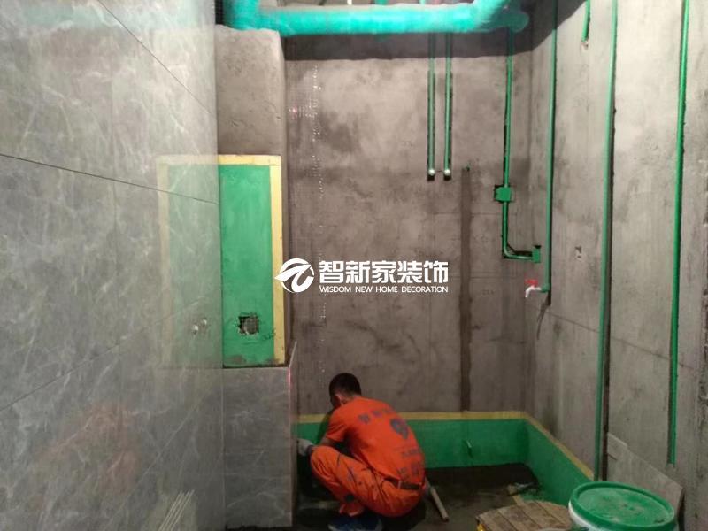 哈尔滨装修施工-瓷砖铺贴现场展示(二)