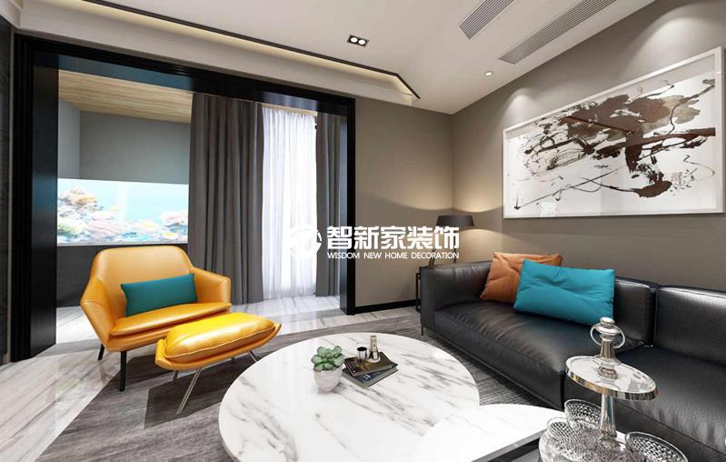 哈尔滨鲁商凤凰城 混搭风格 140平米装修效果图