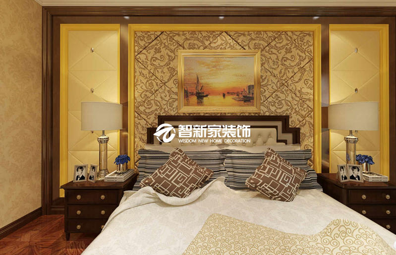 哈尔滨汇龙半岛首府 350米 欧式风格别墅装修效果图